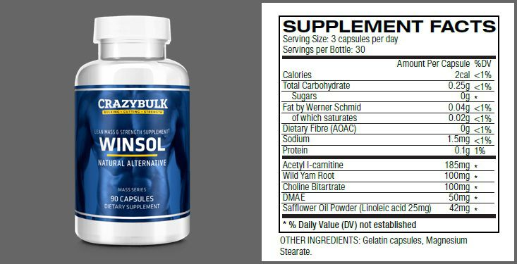 WINSOL ingredienser - Indkøb WINSOL - en Winstrol Fat Burner Juridisk Steroid Alternative i Køge Danmark